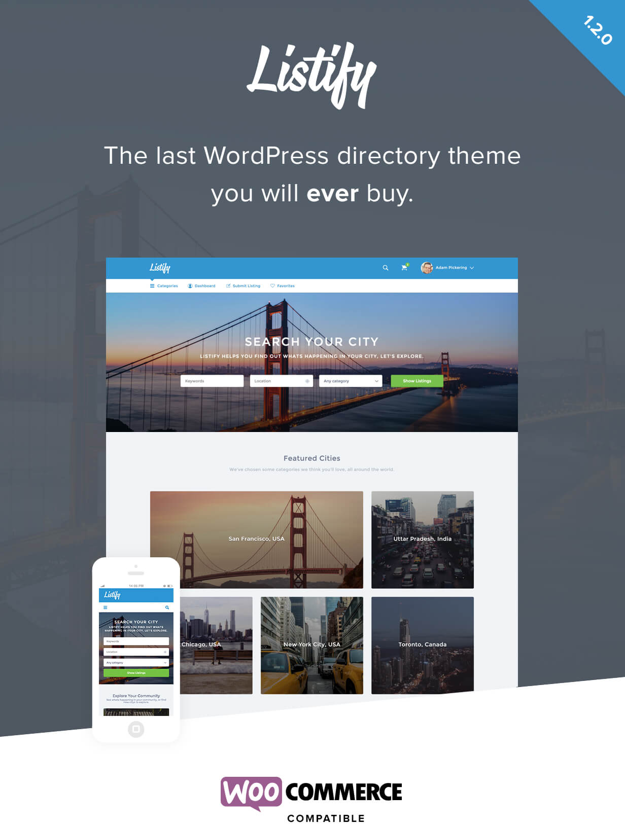 Listify - WordPress Directory Theme